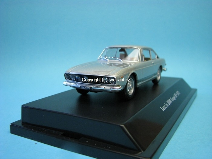 Lancia 2000 Coupé HF 1971 grey Acacio 1:43 Starline
